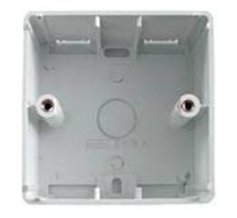 изображение Настенная абонентская коробка UK 1G, 28 мм, белого цвета