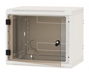 """изображение 19"""" настенный шкаф, односекционный 9U, (520x600x600мм), RBA-09-AS6-CAX-A6"""