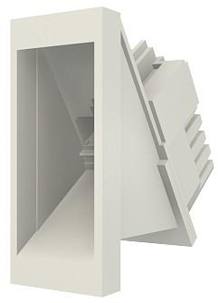 изображение Модуль ModMosaic, 22,5x45мм, 1хRJ45, угловой, 568В, UTP, PowerCat 5e, белый