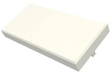 изображение Модуль - заглушка Mod Mosaic 22,5x45мм, белого цвета