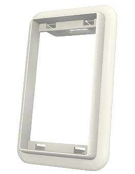 изображение Адаптер Euromod 25х50мм для короба, белого цвета