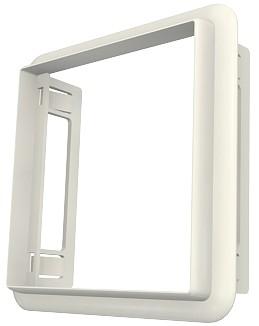 изображение Адаптер Euromod 50х50мм для короба, белого цвета