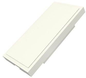 изображение Заглушка Евромод 25х50мм M1, белая