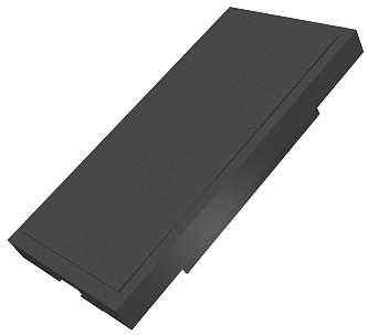 изображение Заглушка Евромод 25х50мм M1, черная