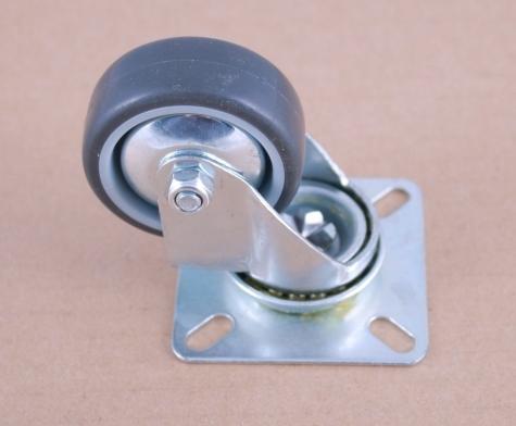 изображение Колесо для напольного шкафа на площадке (d50)  до 40кг.