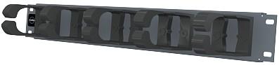 изображение Панель органайзер, 19 дюймов, 1 U графитового цвета