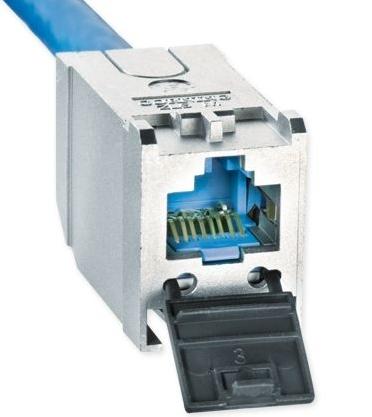 изображение Модуль екранований S500, 1xRJ45, FutureCom, кат. 6A, Corning