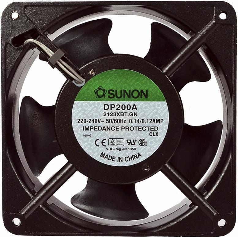 изображение Вентилятор для шкафов на подшипниках, 120x120x25, Sunnon