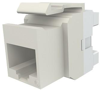 изображение Модуль Keystone 1xRJ45 (WE8W), UTP, 568A/B, PowerCat 6, белый