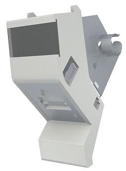изображение Модуль Contura, 25x50 мм, 1xRJ45, угловой, 568A/B, FTP, PowerCat 6, белый