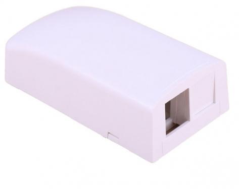 изображение Розетка внешняя для 2-х модулей KeyStone, без модулей, белая, Panduit NetKey