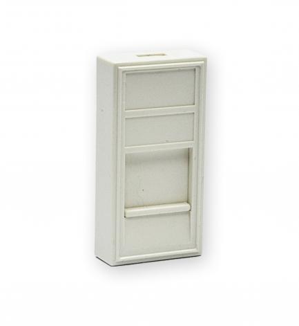 изображение Вставка 45х22,5 под модуль Keystone, белая, EPNew