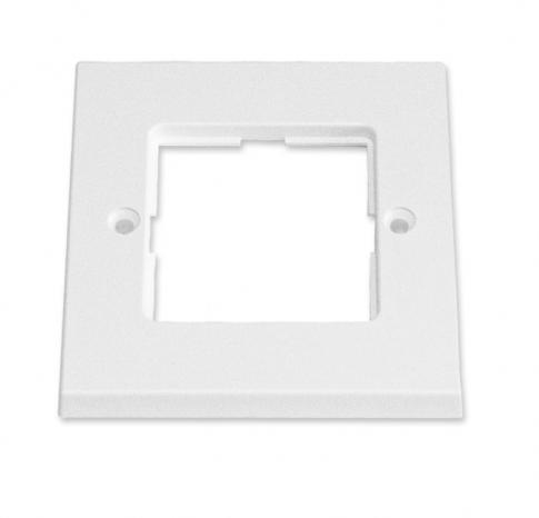 изображение Рамка для пластин LANSape, 87х87 мм, біла RAL9010, UK style, Corning