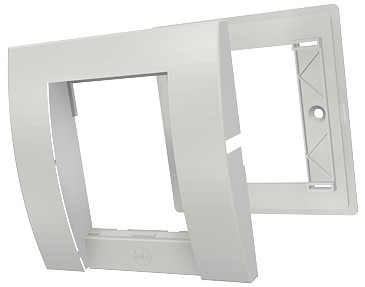 изображение Рамка одинарная Contura 25х50, 1G, 2M, белого цвета